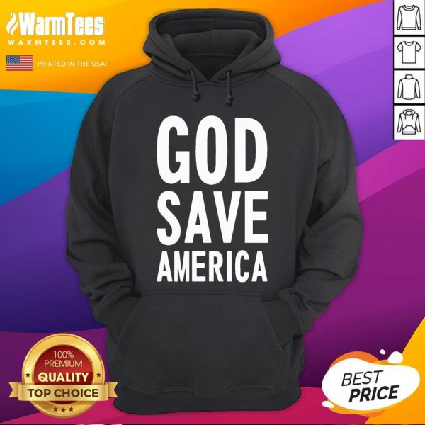 Official Kanye West God Save America Hoodie - Desisn By Warmtees.com