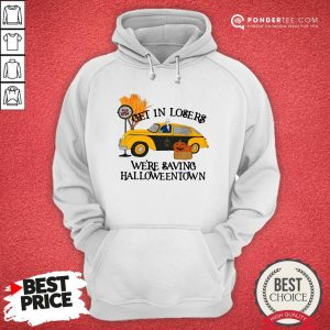 Original Benny Taxi Driver Get In Losers We're Saving Halloweentown Hoodie - Desisn By Warmtees.com