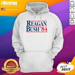 Original Reagan Bush 84 Hoodie - Desisn By Warmtees.com
