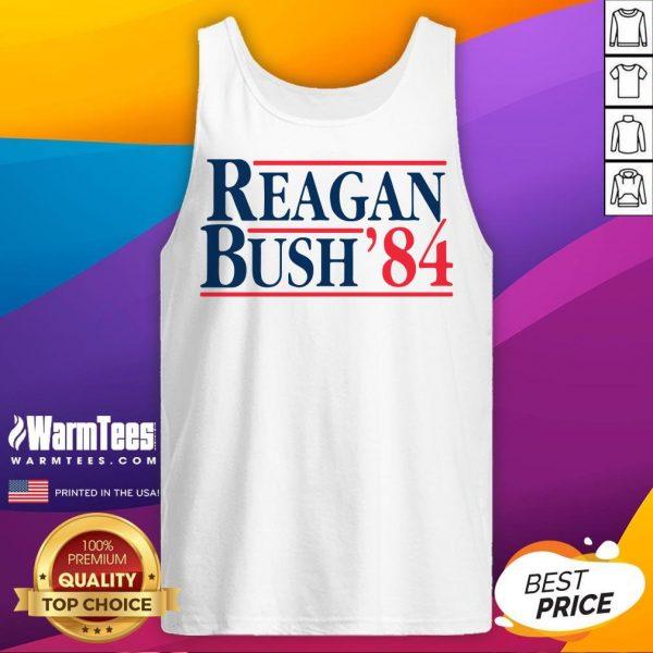 Original Reagan Bush 84 Tank Top - Desisn By Warmtees.com