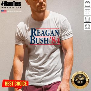 Original Reagan Bush 84 V-neck - Desisn By Warmtees.com