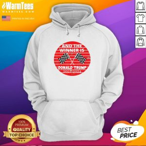 Perfect And The Winner Is Donald Trump In 2020 President Election Vote Hoodie - Design By Warmtees.com