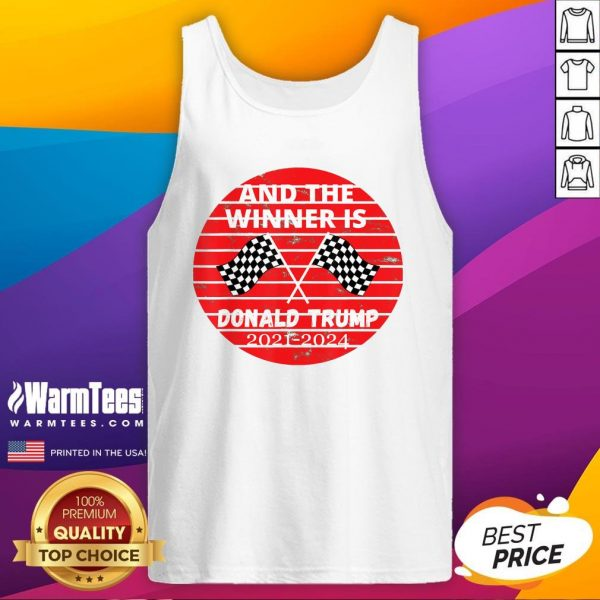 Perfect And The Winner Is Donald Trump In 2020 President Election Vote Tank Top - Design By Warmtees.com