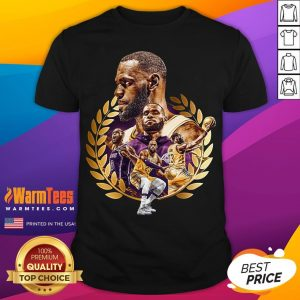 Pretty Lebron James MVP 2020 Los Angeles Laker Shirt - Desisn By Warmtees.com
