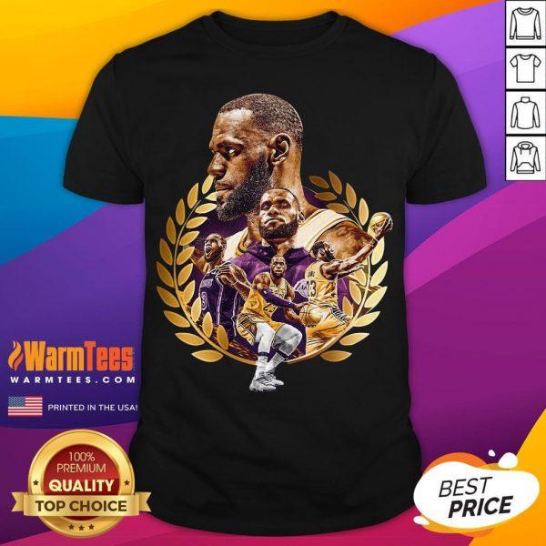 Pretty Lebron James MVP 2020 Los Angeles Laker Shirt - Desisn By Warmtees.com