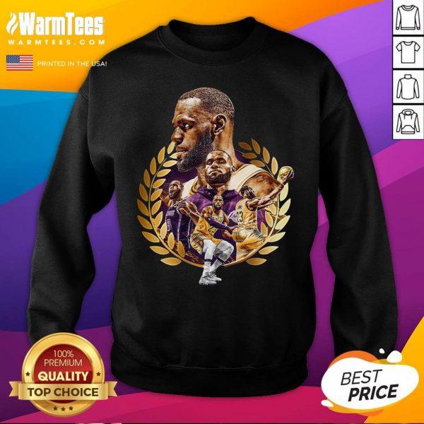 Pretty Lebron James MVP 2020 Los Angeles Laker Sweatshirt - Desisn By Warmtees.com