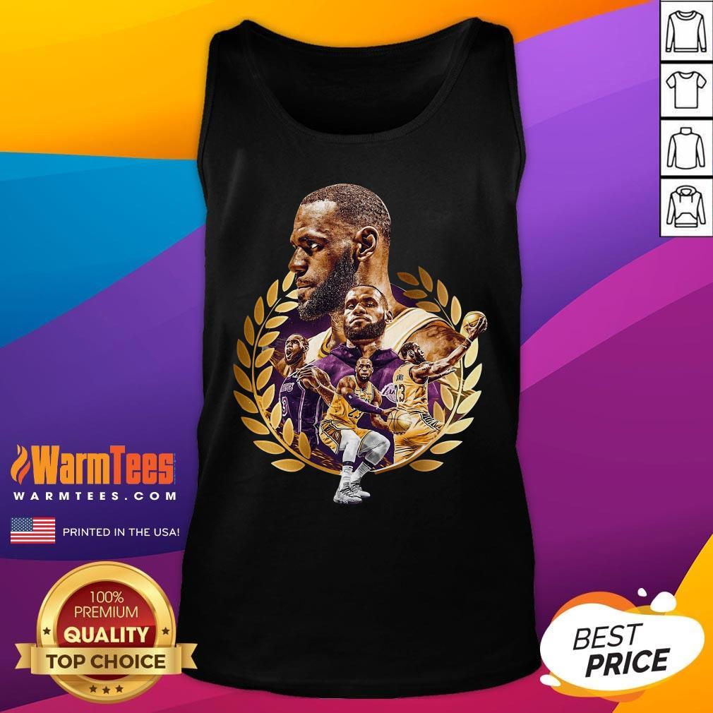 Pretty Lebron James MVP 2020 Los Angeles Laker Tank Top - Desisn By Warmtees.com