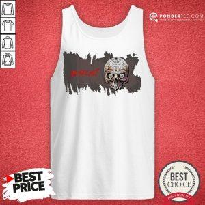 Sugar Skull You See Me Happy Halloween Tank Top - Desisn By Warmtees.com