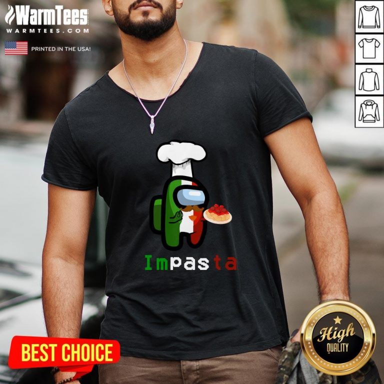Top Impasta Italian Us Impostor Essential Funny 2020 V-neck - Design By Warmtees.com