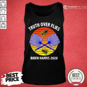 Truth Over Flies Biden Harris 2020 Vintage Tank Top - Desisn By Warmtees.com