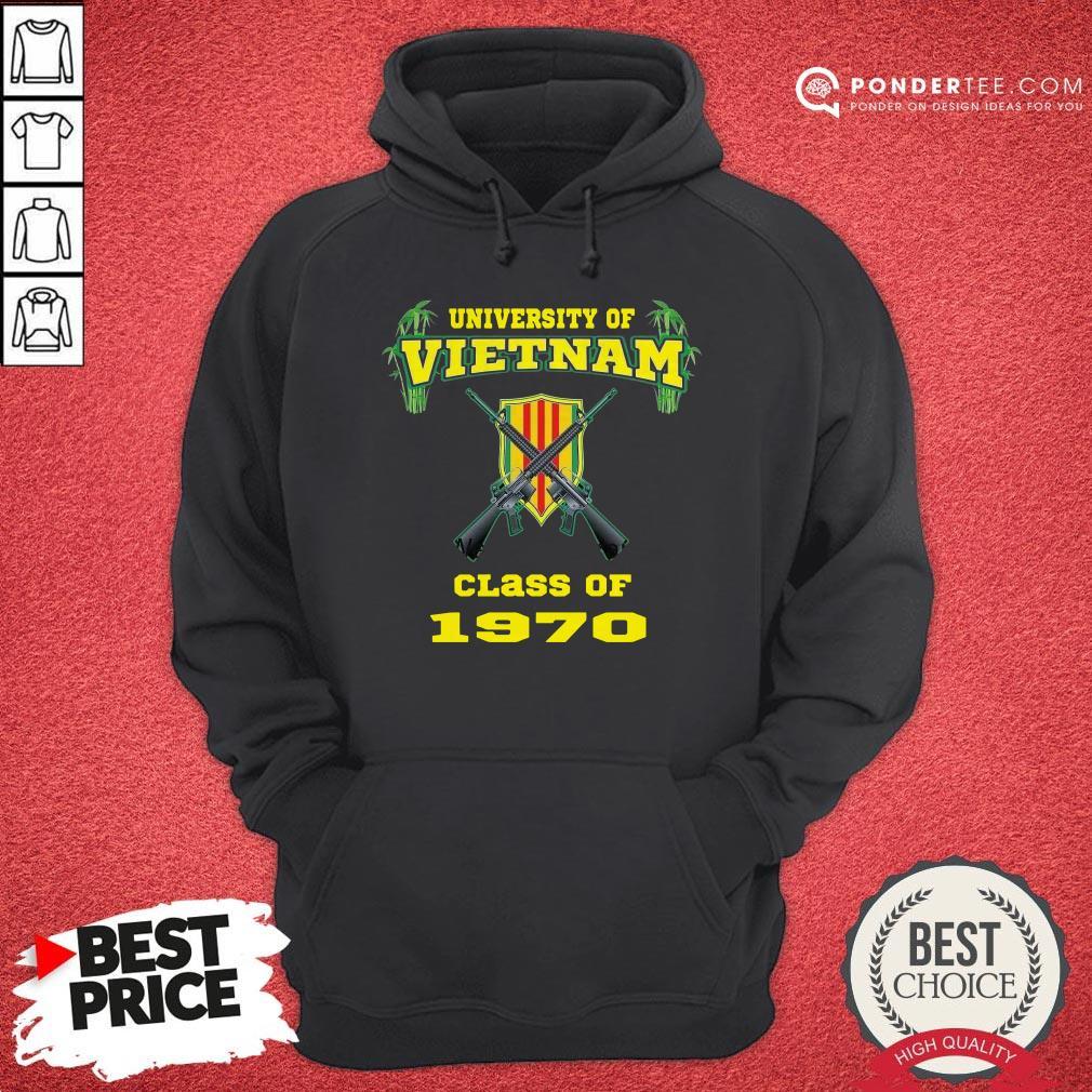 University Of Vietnam Class Of 1970 Hoodie - Desisn By Warmtees.com