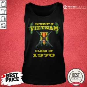 University Of Vietnam Class Of 1970 Tank Top - Desisn By Warmtees.com