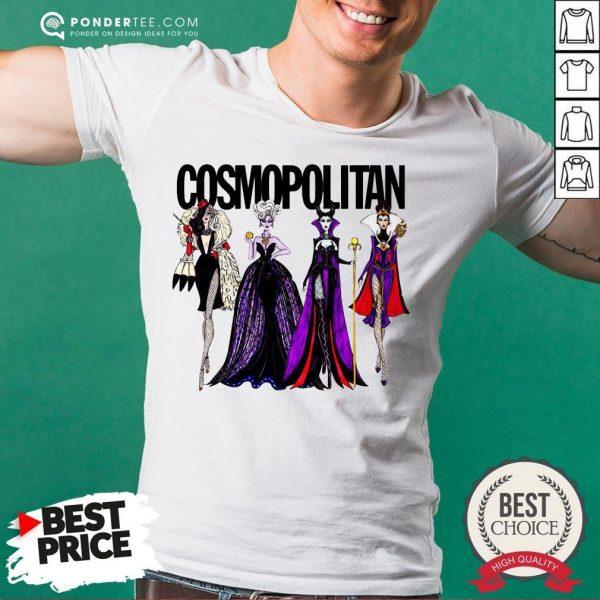 Vogue Disney Villains Evil Cosmopolitan Shirt - Desisn By Warmtees.com