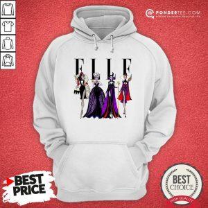 Vogue Disney Villains Evil Elle Hoodie - Desisn By Warmtees.com