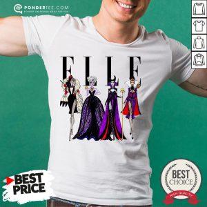 Vogue Disney Villains Evil Elle Shirt - Desisn By Warmtees.com