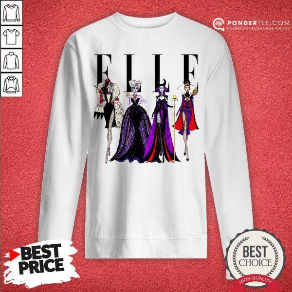 Vogue Disney Villains Evil Elle Sweatshirt - Desisn By Warmtees.com