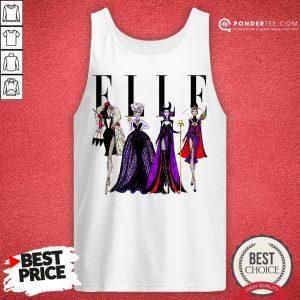 Vogue Disney Villains Evil Elle Tank Top - Desisn By Warmtees.com