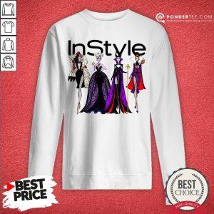 Vogue Disney Villains Evil Instyle Sweatshirt - Desisn By Warmtees.com