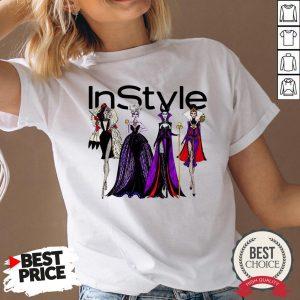 Vogue Disney Villains Evil Instyle V-neck - Desisn By Warmtees.com