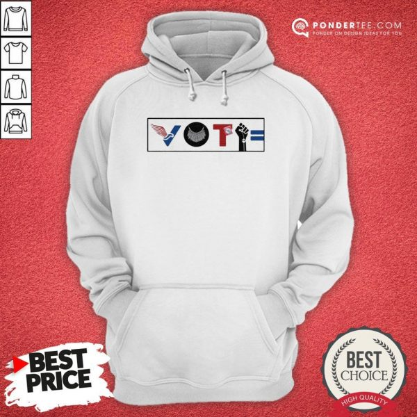 Vote For Liberty RBG Peace BLM Equality Hoodie - Desisn By Warmtees.com