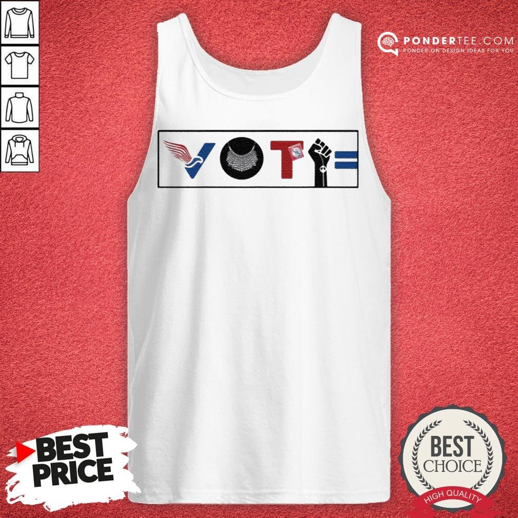 Vote For Liberty RBG Peace BLM Equality Tank Top - Desisn By Warmtees.com