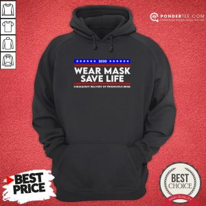 Wear Mask Save Life Funny Movie Election Hoodie - Desisn By Warmtees.com