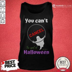 You Can't Cancel Halloween - Halloween Spirt 2020 Lives On Tank Top - Desisn By Warmtees.com