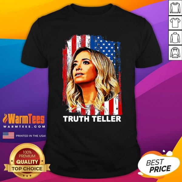 Attractive Kayleigh McEnany Truth Teller United States Shirt - Design By Warmtees.com