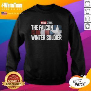 Attractive The Falcon Winter Soldier Sweatshirt - Design By Thelasttees.com