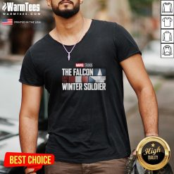 Attractive The Falcon Winter Soldier V-neck - Design By Thelasttees.com