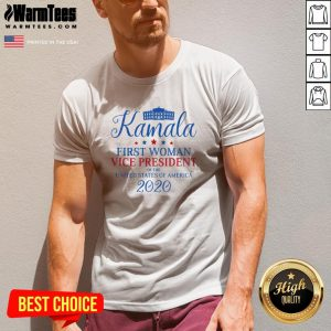 Beautiful Kamala Harris First Woman USA Vice President 2020 Victory V-neck - Design By Warmtees.com