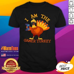 Cute I Am The Happy Thanksgiving Gamer Turkey Mask Shirt - Design By Warmtees.com