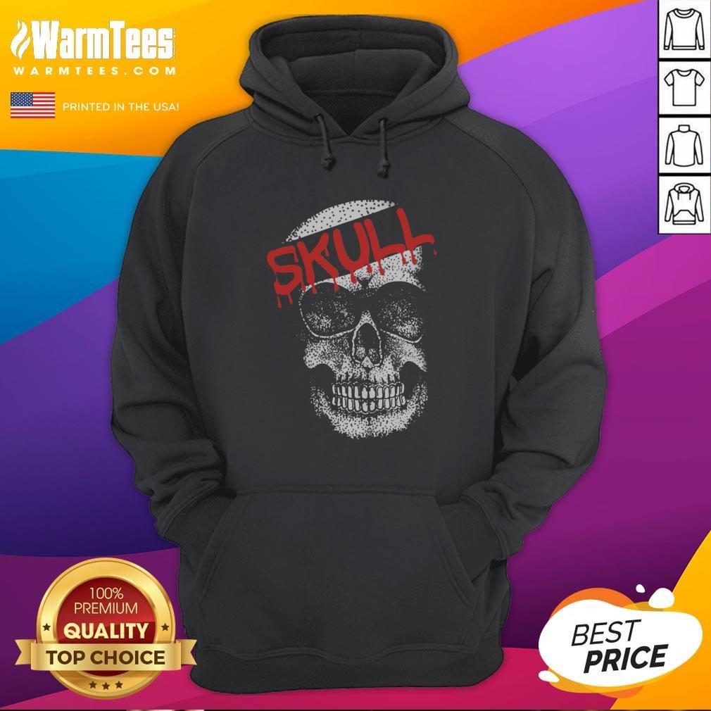Cute I Would Like Skull Hoodie - Design By Thelasttees.com
