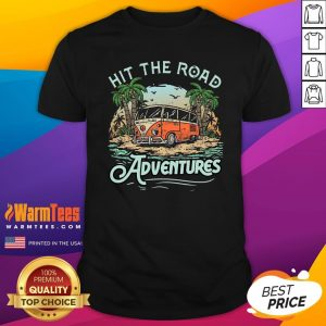 Fantastic Hit The Road Adventures Shirt - Design By Thelasttees.com