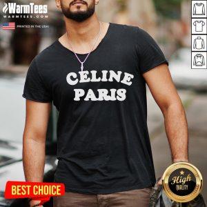 Fantastic I Love Celine Paris V-neck - Design By Warmtees.com