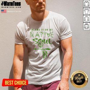 Fantastic I Love Native Soul V-neck - Design By Warmtees.com