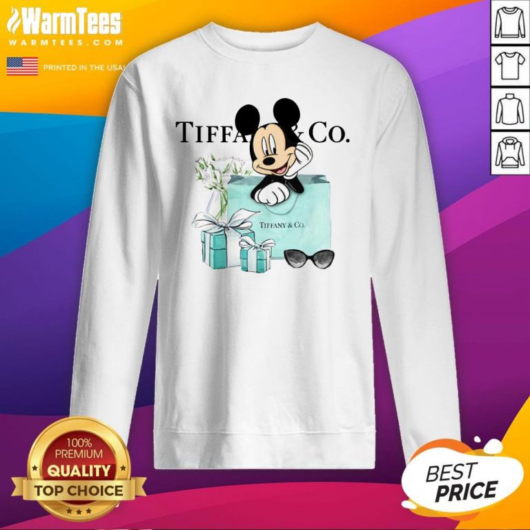 Fantastic Mickey Mouse Tiffany And Co Sweatshirt - Design By Warmtees.com