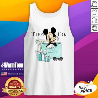 Fantastic Mickey Mouse Tiffany And Co Tank Top - Design By Warmtees.com