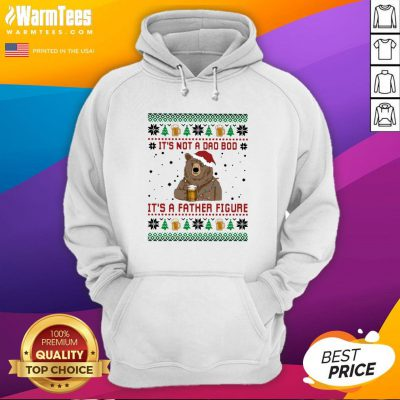 Fantastic Santa Bear Drink Beer Its Not A Bad Boy Its A Father Figure Ugly Christmas Hoodie - Design By Warmtees.com