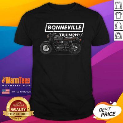 Fantastic Triumph Bonneville T120 Motorcycle Shirt - Design By Warmtees.com