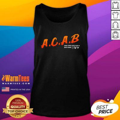 Funny Denzel Canvas Merch Store ACAB Dare Tank Top - Design By Warmtees.com