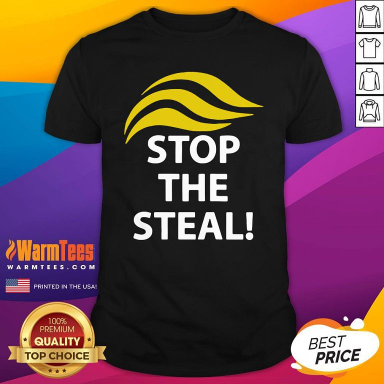 Funny Donald Trump Stop The Steal Shirt - Design By Warmtees.com