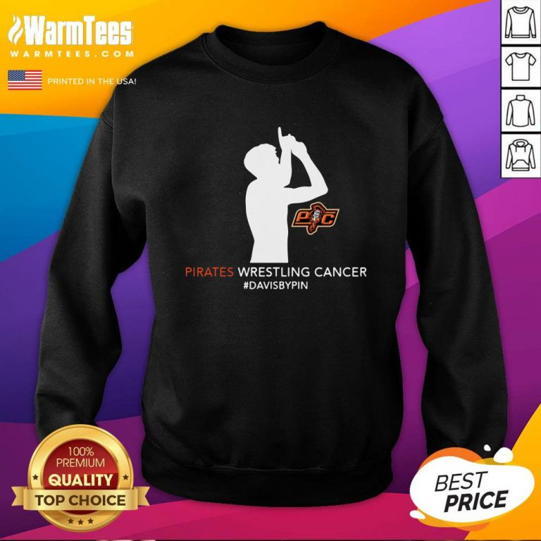 Happy Pirates Wrestling Cancer Dababy Pin Sweatshirt - Design By Warmtees.com