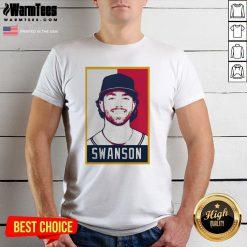Hot Dansby Swanson Baseball Player Art Shirt - Design By Warmtees.com