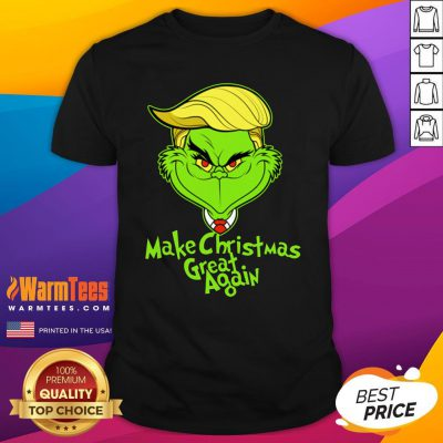 Official Grinch Trump Make Christmas Great Again Shirt - Design By Warmtees.com