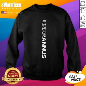 Perfect Unus Annus Merch Vertical Logo Sweatshirt - Design By Warmtees.com
