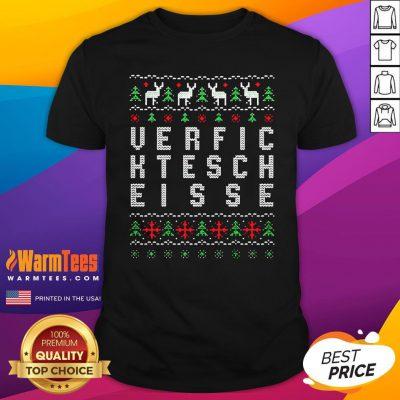 Perfect Verfic Ktesch Eisse Ugly Christmas Shirt - Design By Warmtees.com