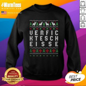 Perfect Verfic Ktesch Eisse Ugly Christmas Sweatshirt - Design By Warmtees.com