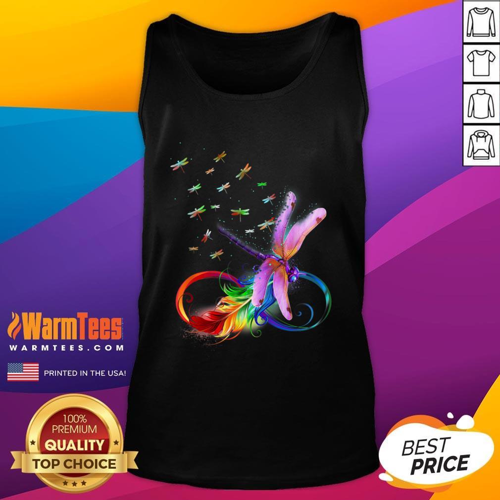 Premium I Love Dragonflies Tank Top - Design By Warmtees.com
