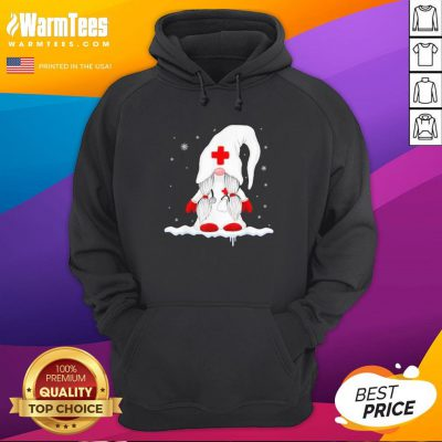 Premium Santa Claus Nurse Hoodie - Design By Warmtees.com